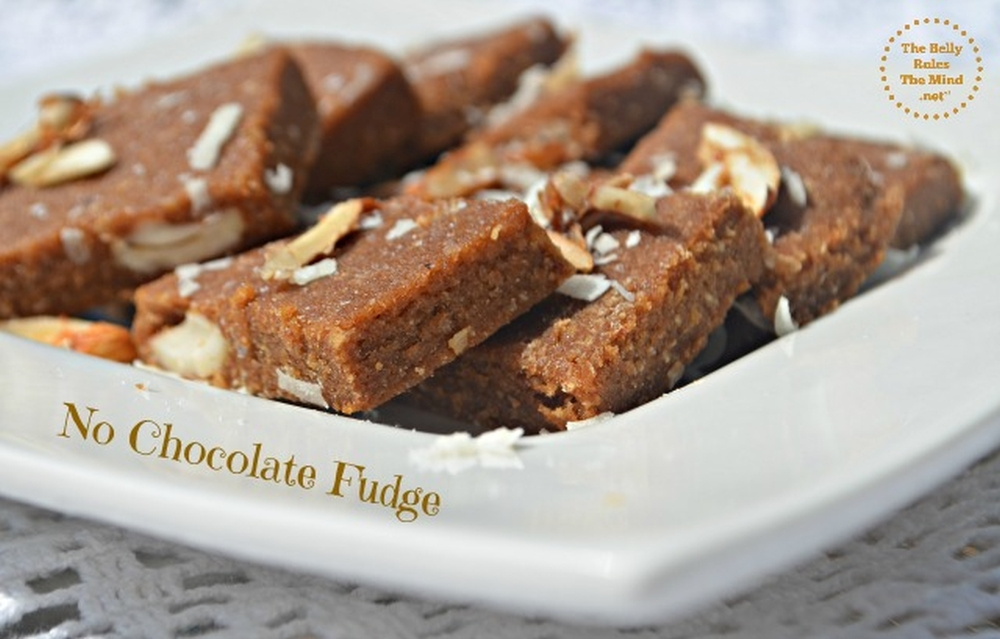 No Chocolate Fudge