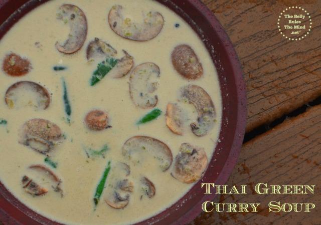 thai green curry soup