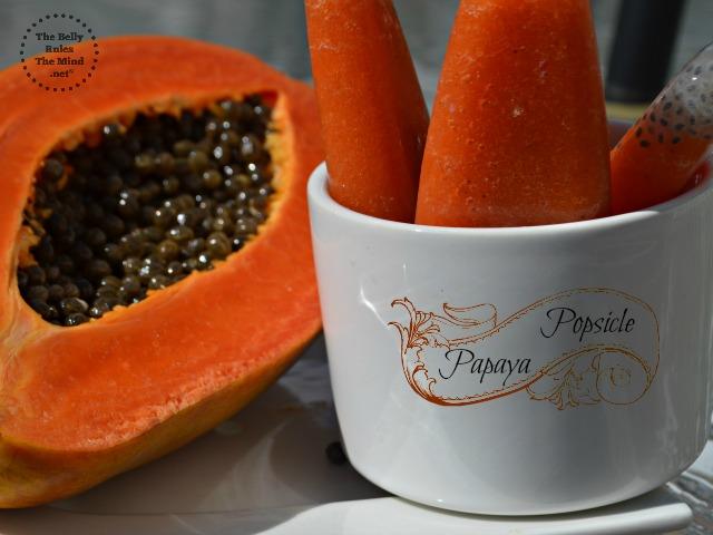 Papaya Popsicle