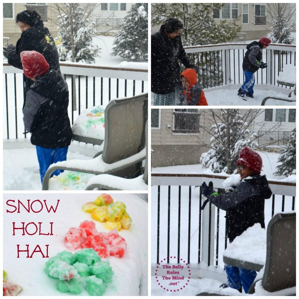 Snow Holi Hai