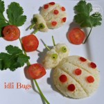 Idli bugs (Food art)