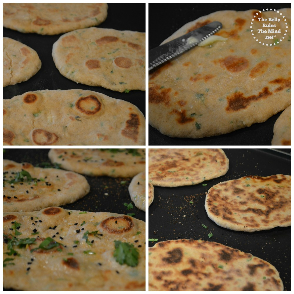 no yeast whole wheat kulcha