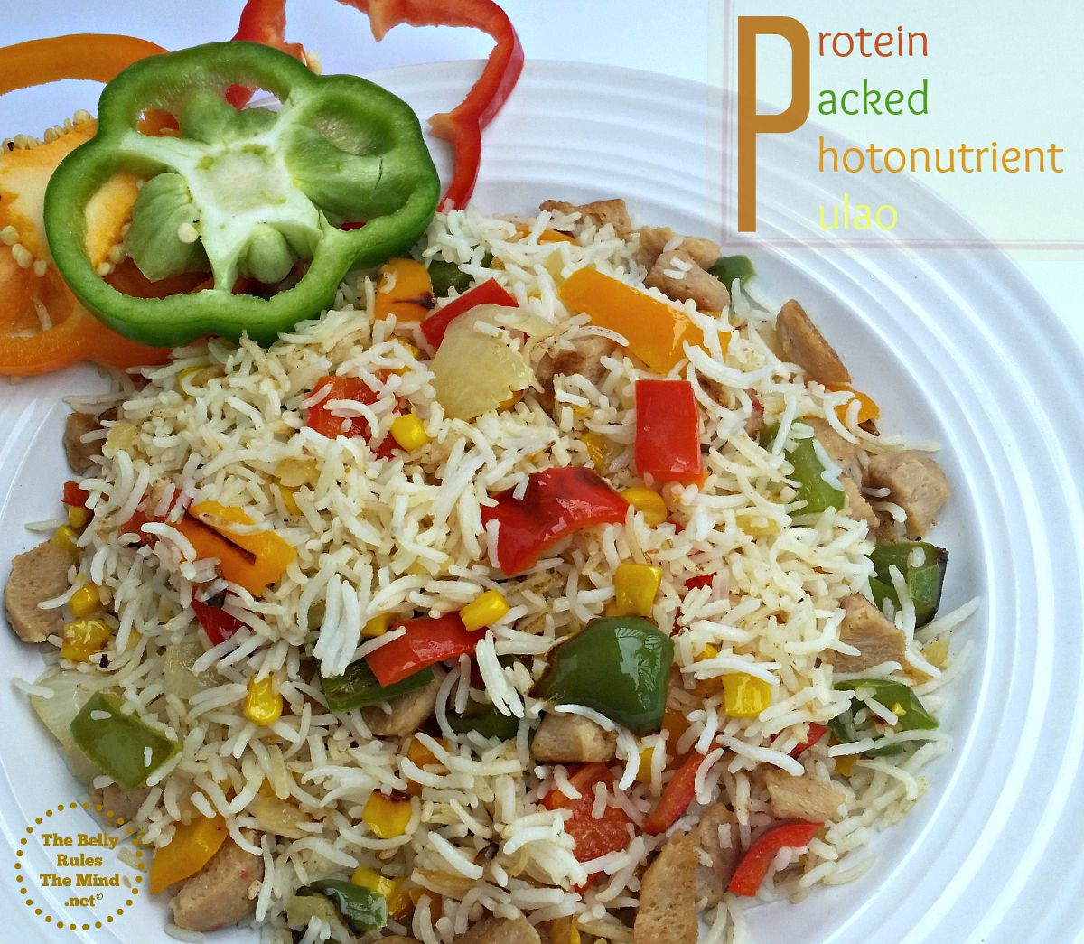 Protein Packed Photonutrient pulav
