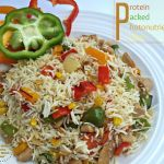 Protien packed Photo-nutrient Pulao