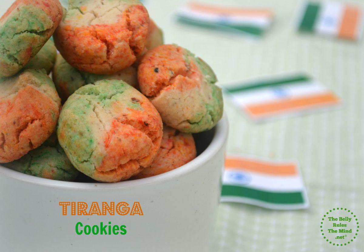 Tiranga Nankhatai  Cookies