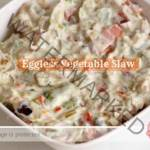 Eggfree Vegetable Slaw