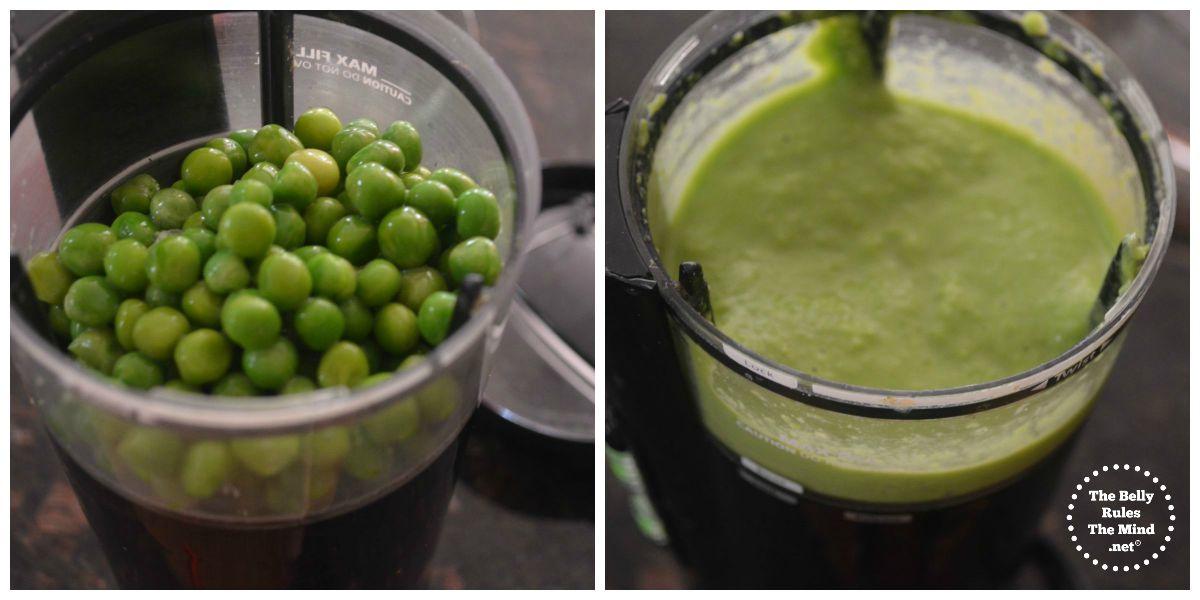 green peas dhhokla