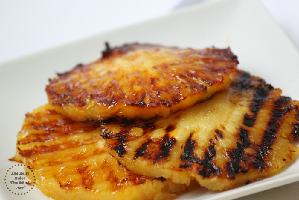 GRilled Pineapples stacked
