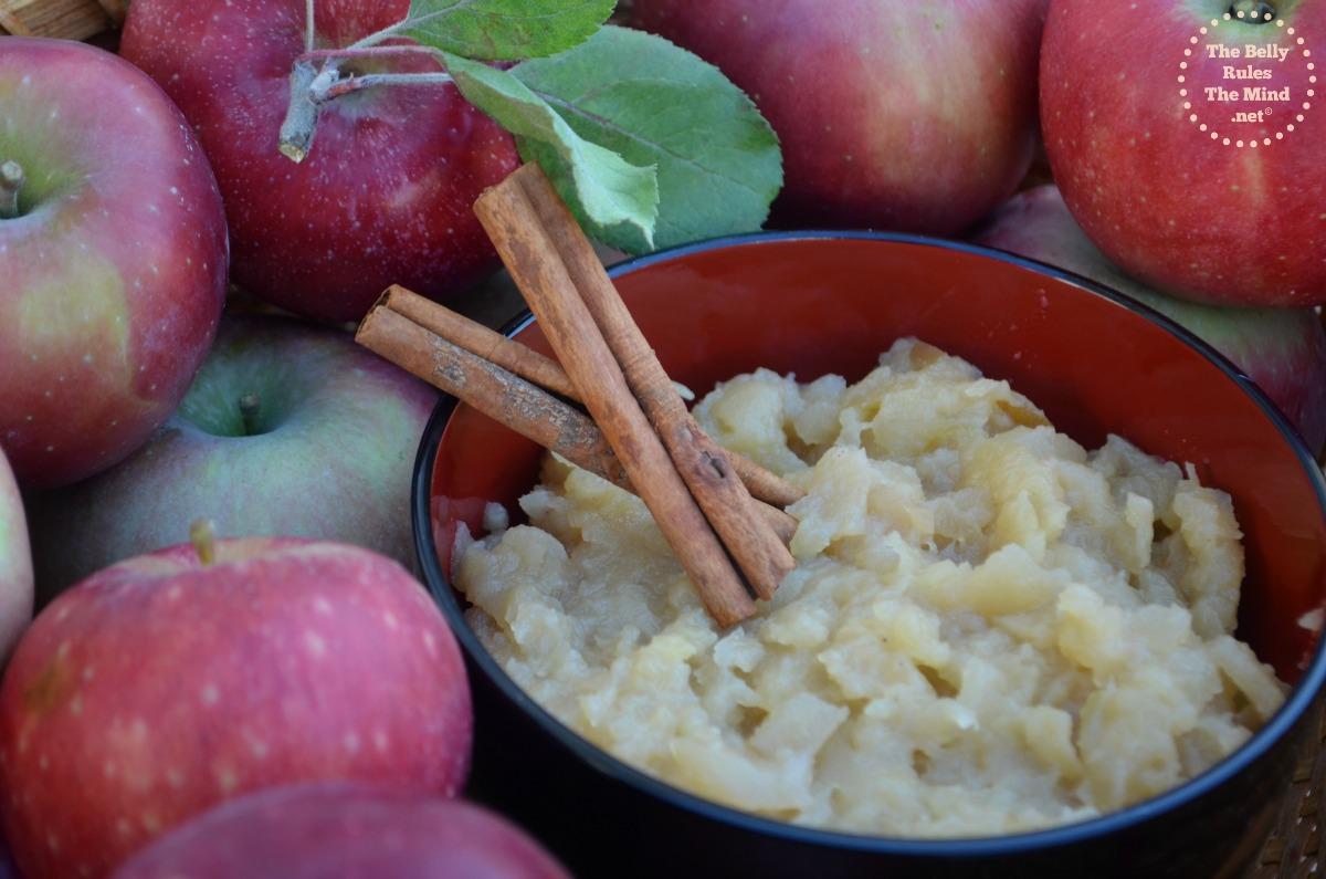 Home made applesauce