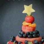 Watermelon Fruit Cake