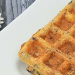Savory Semolina Waffles