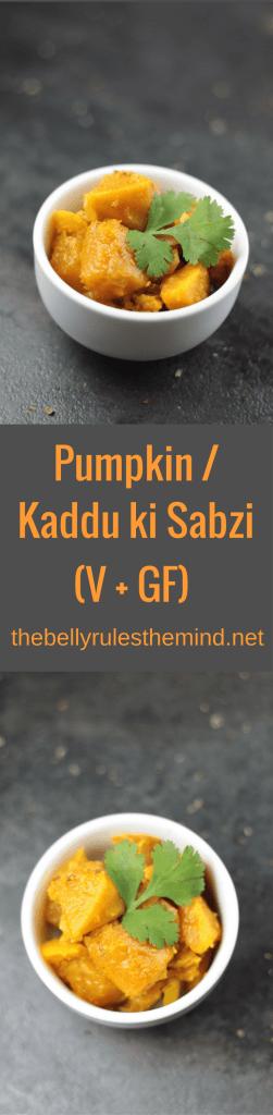 Indian style pumpkin recipe