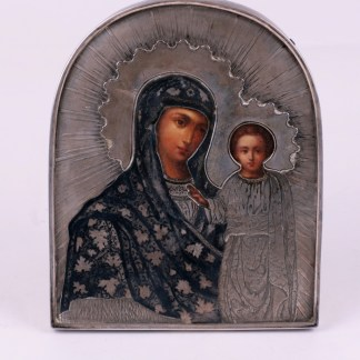 Rare table icon of Mother of God of Kazan