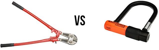 Bolt cutters vs Bike lock
