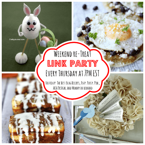 The Weekend re-Treat Link Party #62 | The Best Blog Recipes