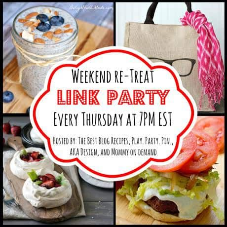 The Weekend re-Treat Link Party #65 | The Best Blog Recipes  Ends 5/4 @ 11:59 pm