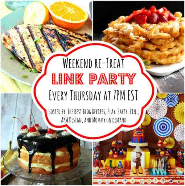 The Weekend re-Treat Link Party May 8th - 11th | The Best Blog Recipes