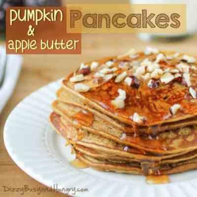 Pumpkin Apple Butter Pancakes | The Best Blog Recipes