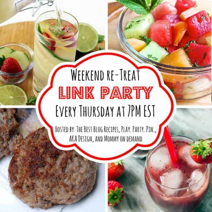 The Weekend re-Treat Link Party #76