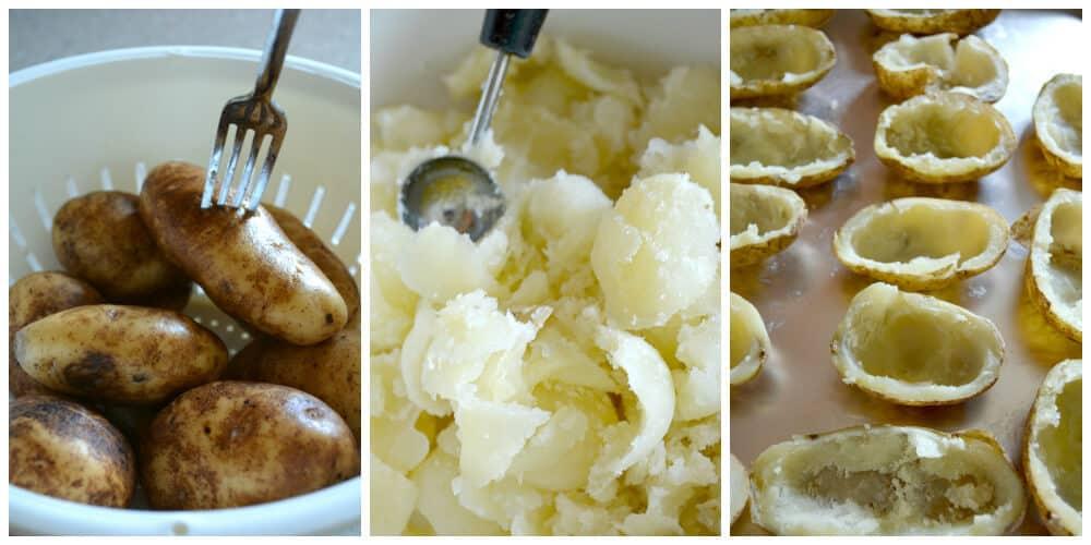 Twice Baked Potatoes Prep #whatsfordinner