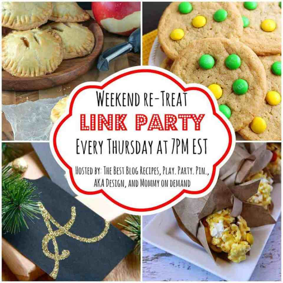 The Weekend re-Treat Link Party #93