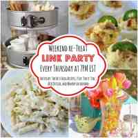 The Weekend re-Treat Link Party #115