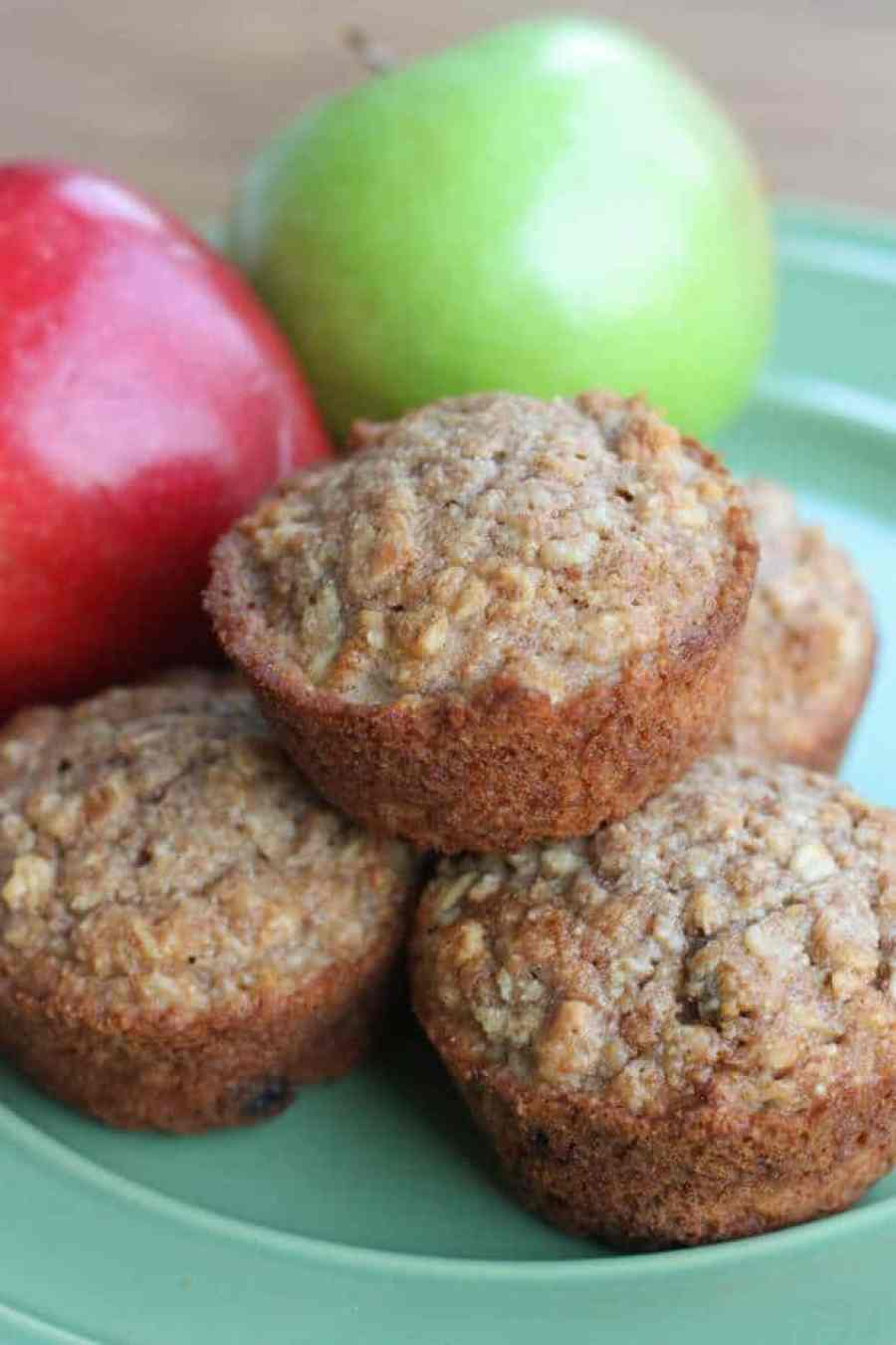 Healthy applesauce oat muffins the best blog recipes for How to make healthy desserts from scratch