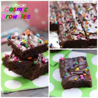 Copycat Cosmic Brownies