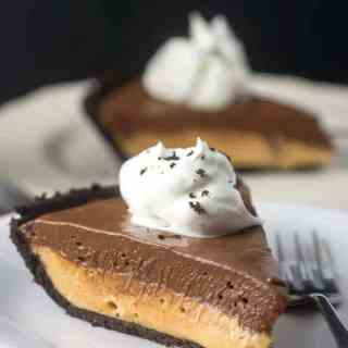 Chocolate Peanut Butter No-Bake Pie