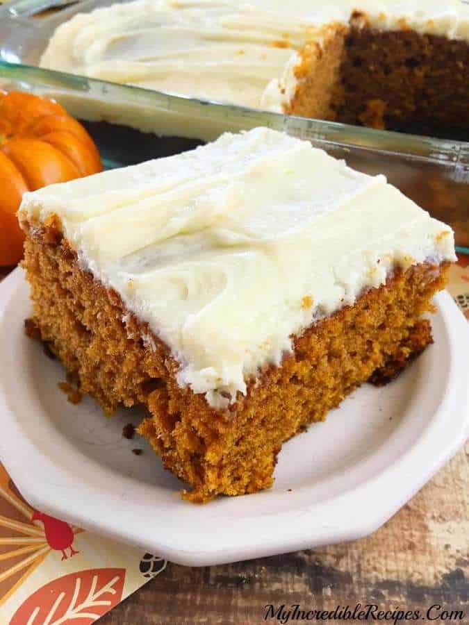 Better Than Pumpkin Cake My Incredible Recipes