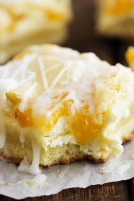 Peaches and Cream Pie Bars