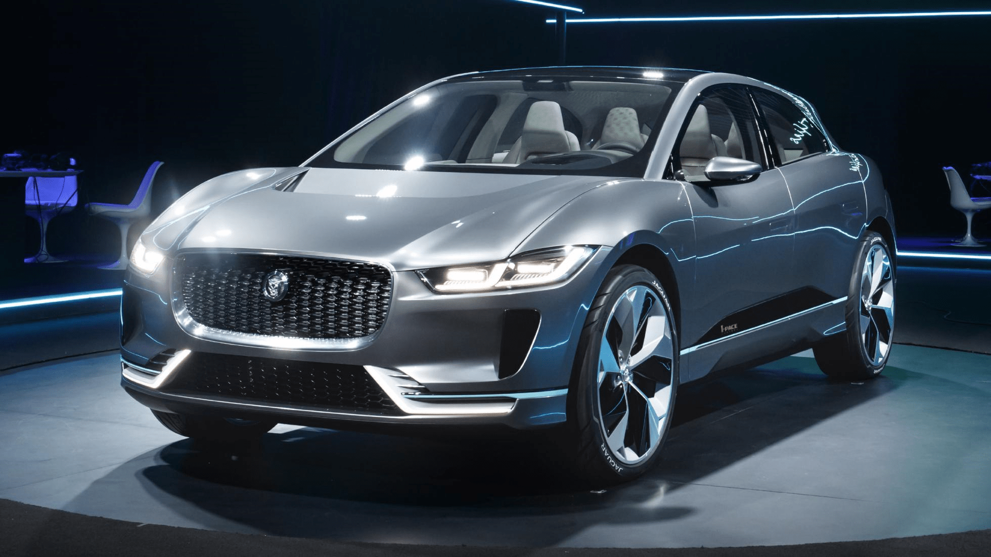 Jaguar Cars News News New Jaguar Ipace Is A 400bhp Tesla Baiting Electric
