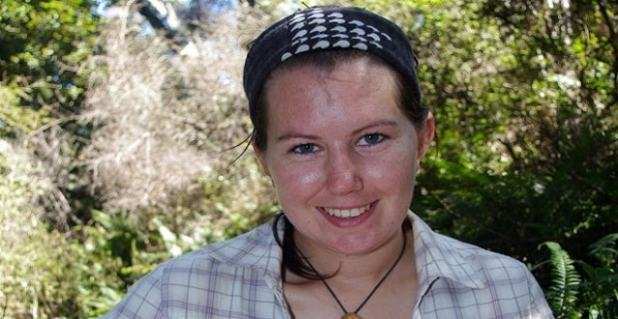 Kathryn Strang is studying the impact of feral cats on populations of kiwi and other native birds.