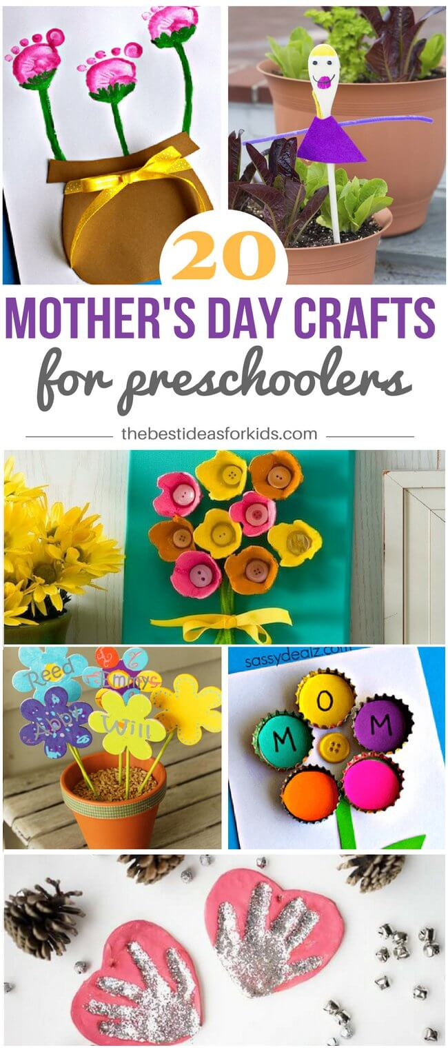 Art Decorating And Crafting 20 Mother S Day Crafts For Preschoolers The Best Ideas For Kids