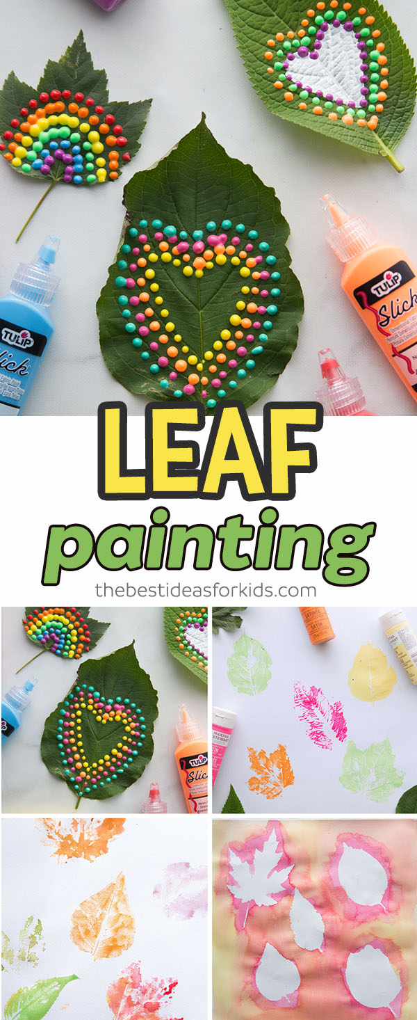 Leaf Painting The Best Ideas For Kids