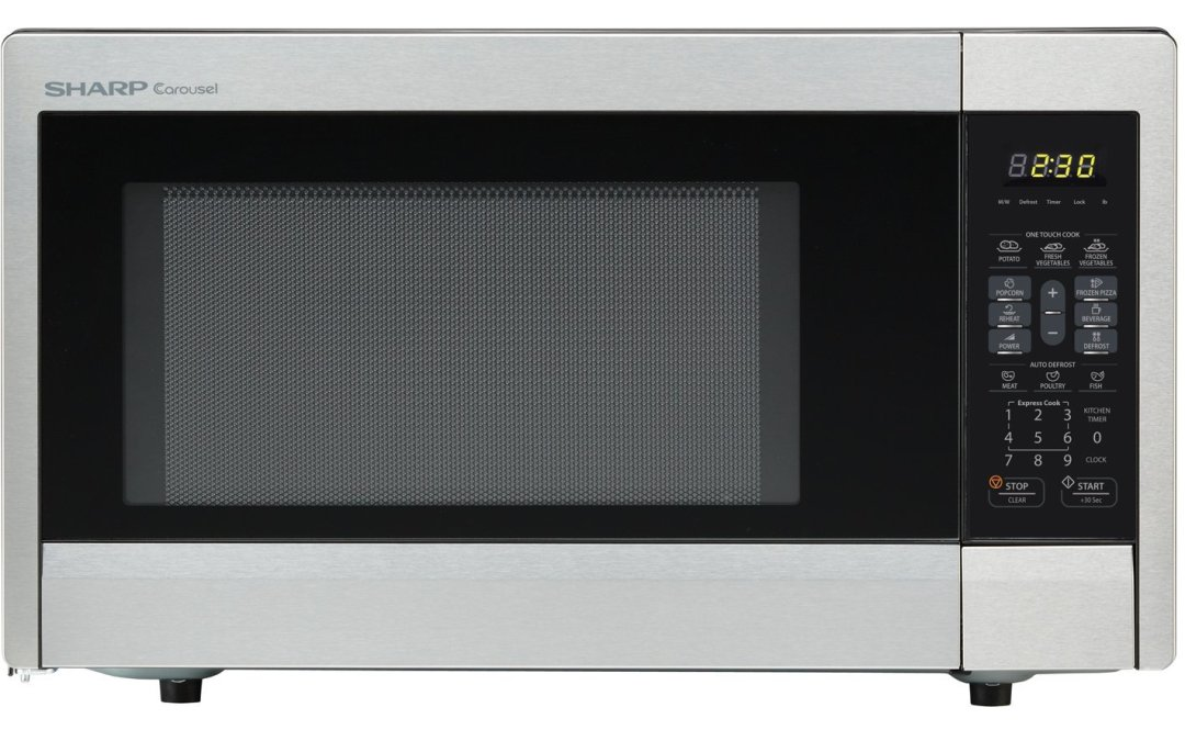 Sharp ZR331ZS Countertop Microwave Oven Review