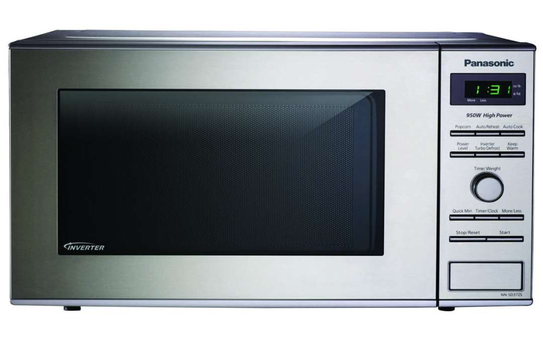 Panasonic NN-SD372S Stainless Countertop Microwave Oven Review