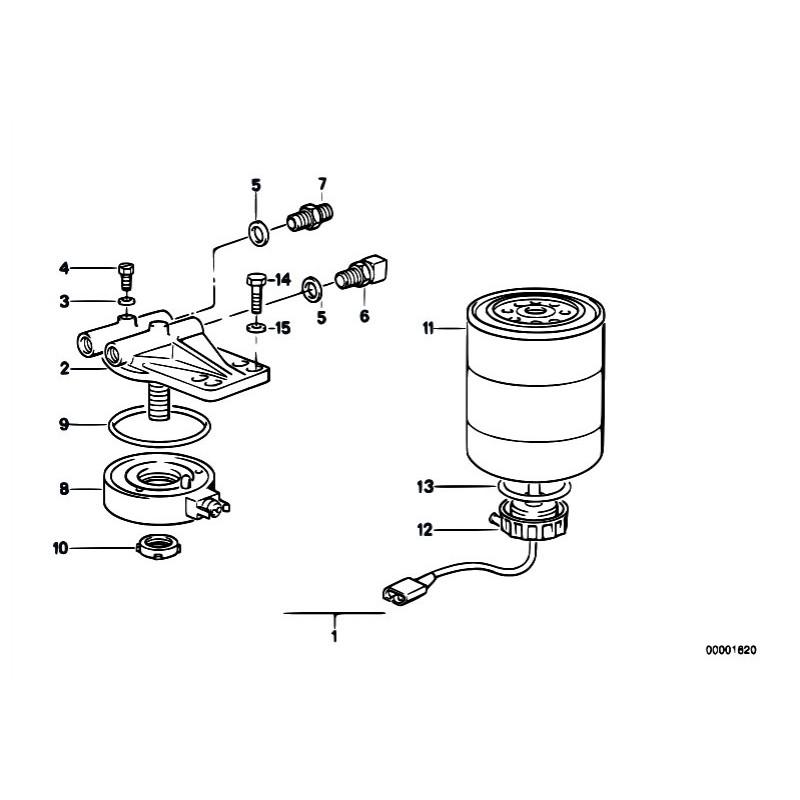duramax fuel filter cap