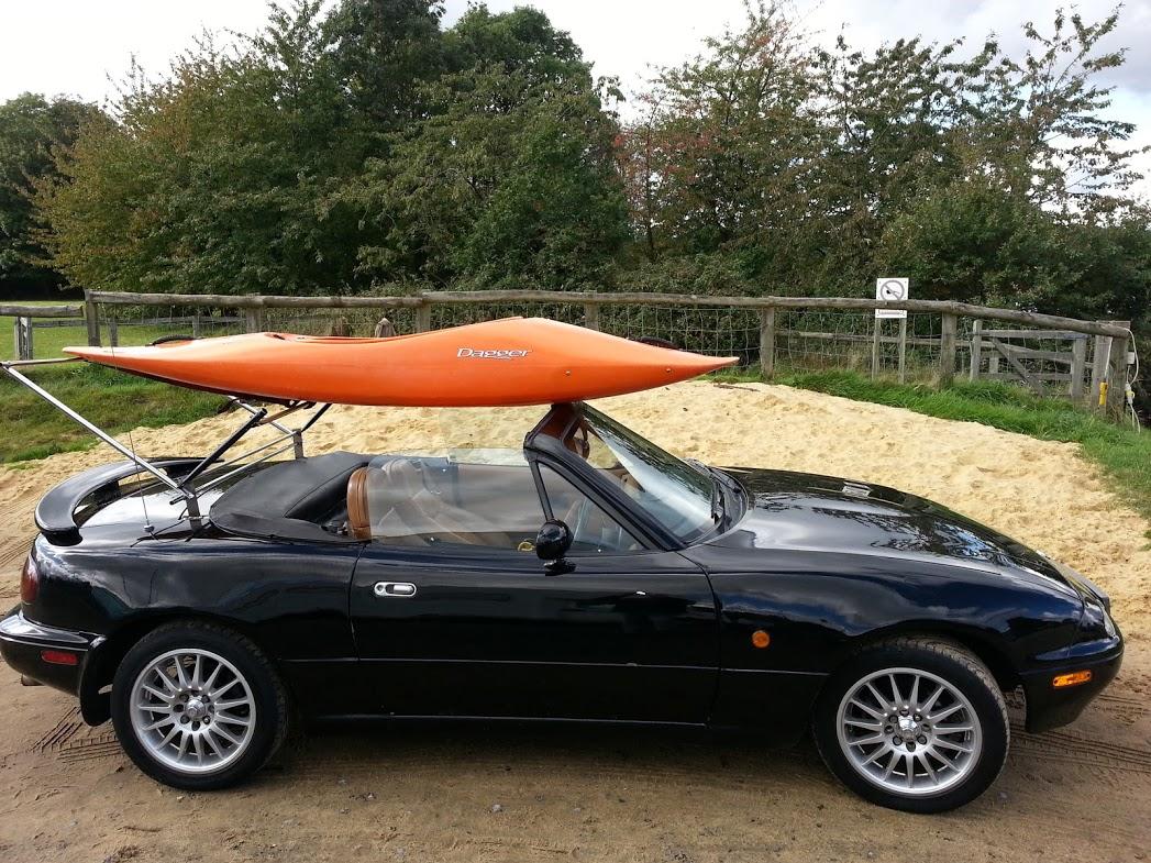 New Roof Rack Carrier Trunk Boot Rack For Eunos Miata