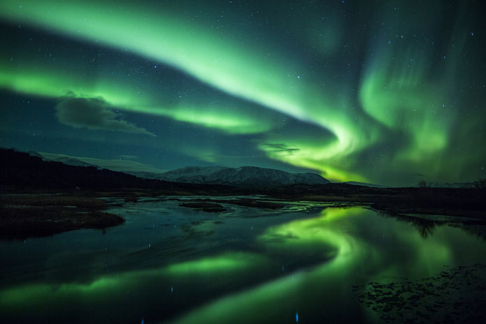 Cartoon Fall Wallpaper The Aurora Borealis Or Northern Lights A Festival Of Colors