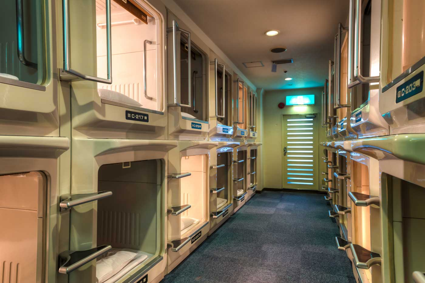 Kapselhotel Tokyo This Intriguing Capsule Hotel Is The Accommodation You Need