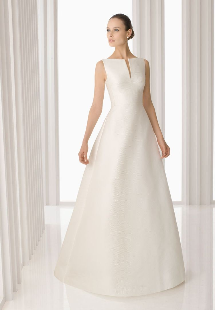 Swanky A Satin Bateau Dress Ideas Wedding Dresses Wedding Wedding Dresses Wedding Dress Ideas wedding dress Simple Wedding Dress