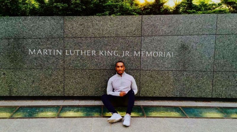A Reflection from the Martin Luther King, Jr. Memorial
