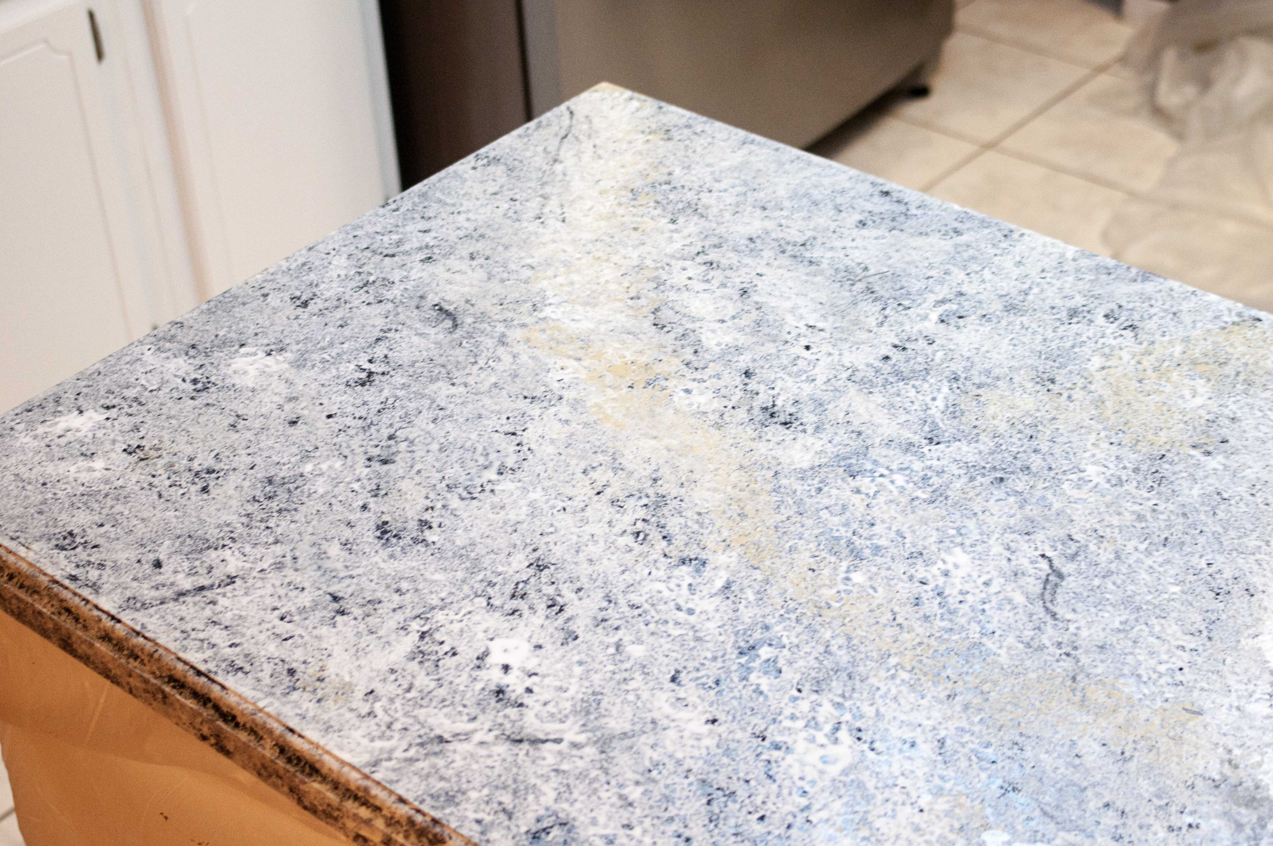 Painting Kitchen Countertops With Giani Granite The