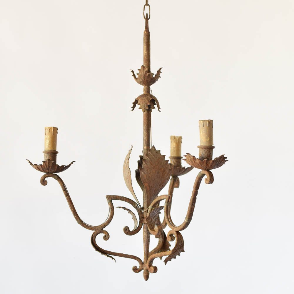 Spanish Chandelier Eclectic Spanish Chandelier