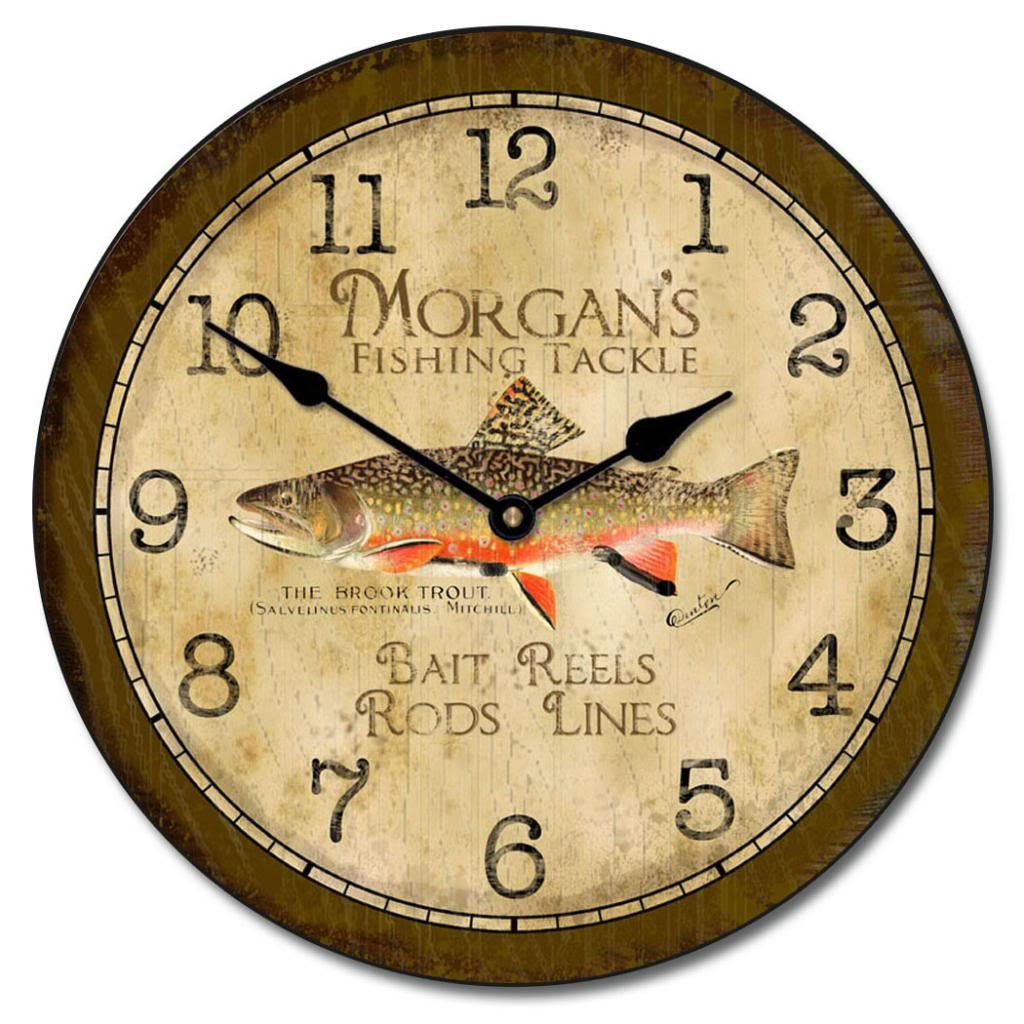 Breathtaking Featured Image Fishing Clocks Fisher Wall Clock Big Clock Store Wall Clocks Images Wall Clock Designs furniture Beautiful Wall Clocks