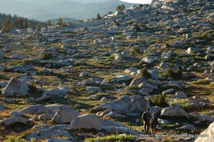South of Donohue Pass, Ansel Adams Wilderness, High Sierra