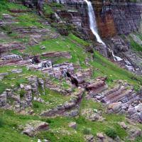 Morning Eagle Falls, Piegan Trail Pass