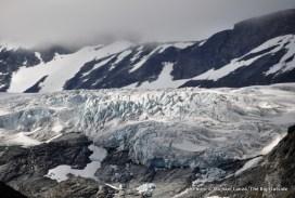 Svellnosbrean glacier above the Visdalen.