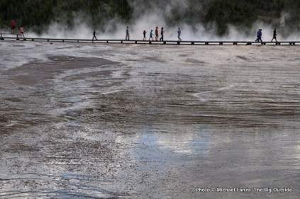 Grand Prismatic Geyser, Yellowstone.